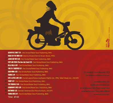 The Scientist Meets Ted Sirota's Heavyweight Dub   Album Cover