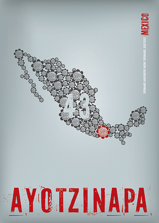 Solidarity with Ayotzinapa Disappeared | I.107
