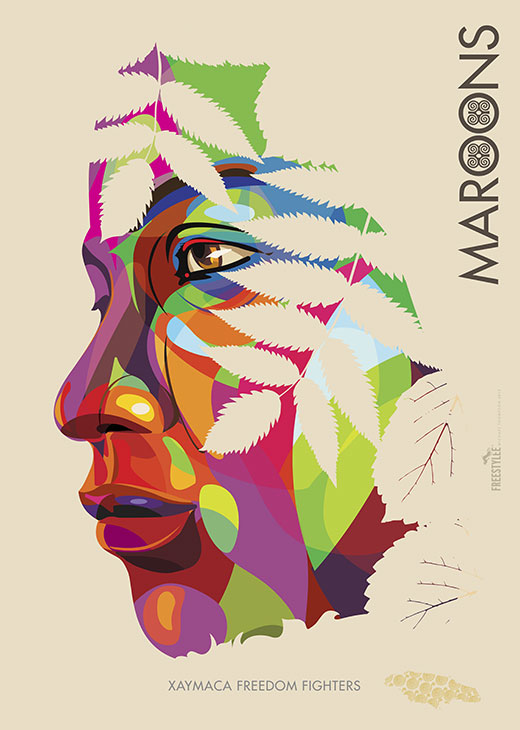 Maroon - Caribbean | J.086