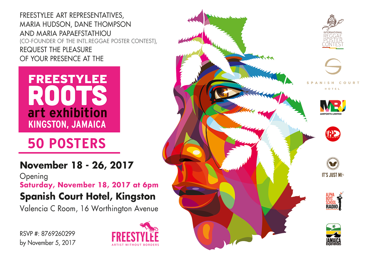 "Freestylee | ""Freestylee Roots"" exhibition, Spanish Court Hotel"