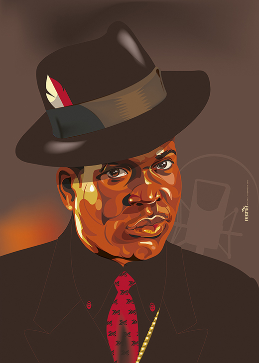 Barrington Levy for Riddim Magazine