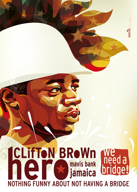 Clifton Brown Hero | J.032