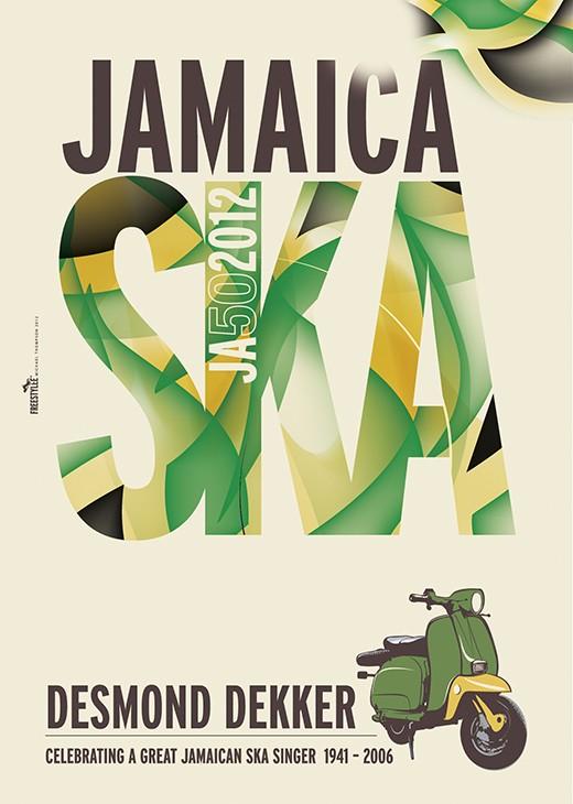 Jamaica 50 SKA DEKKER | JA.069