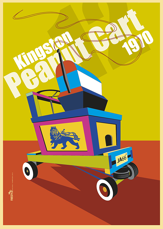 Kingston Peanut Cart 1970 | J.056