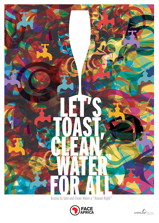 Let's Toast Clean Water For All | I.069