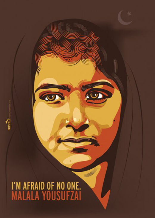 Malala Yousufzai – I am afraid of no one | I.063