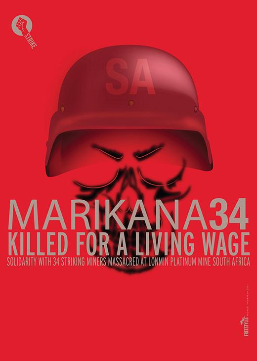 Marikana 34 | Killed For A Living Wage | I.047