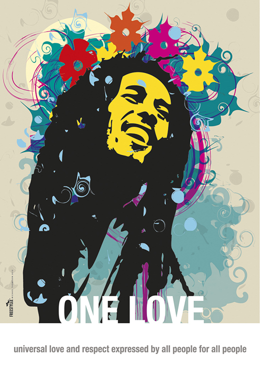 One Love All | Bob Marley | R.040