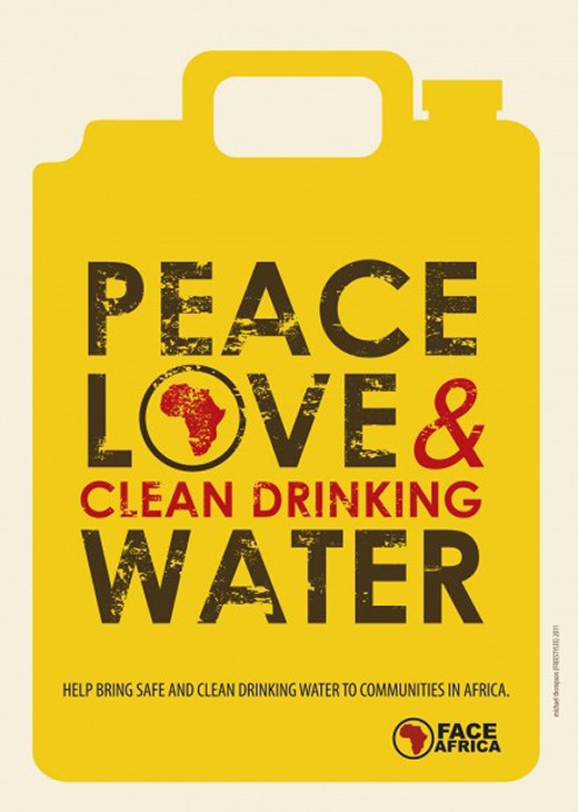 Peace Love and Clean Drinking Water | I.026