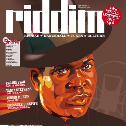Barrington Levy for Riddim Magazine