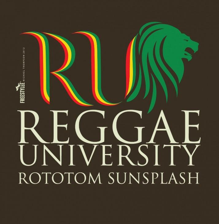 Reggae University Logo Design