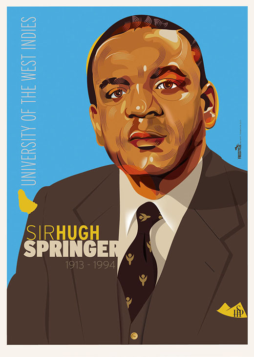 Sir Hugh Springer 1913-1994, University of West Indies, Jamaica | J.078