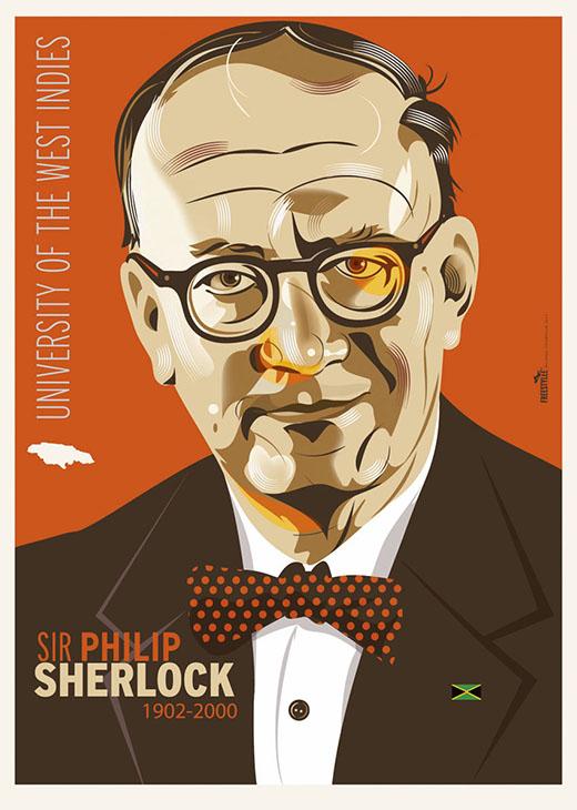 Sir Philip Sherlock 1902-2000, University of West Indies, Jamaica   J.079