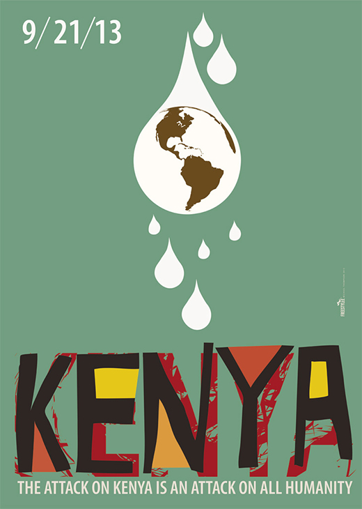 Solidarity to Kenya | 21st September 2013 | I.086