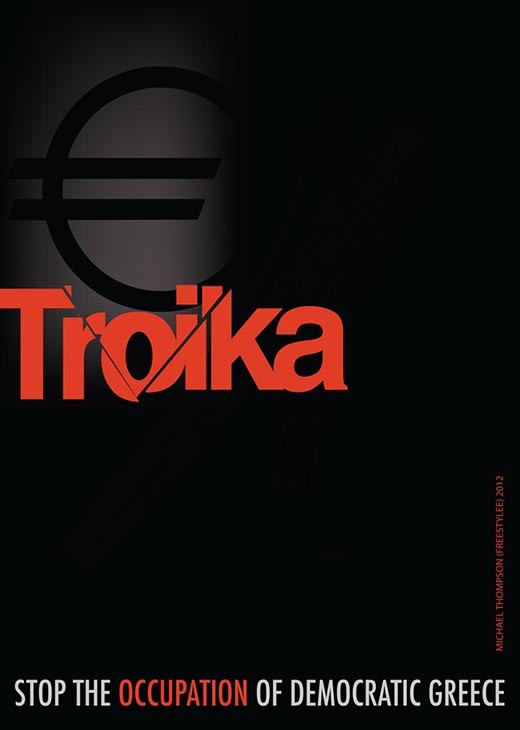 Troika - Stop the Occupation of Democratic Greece | Ι.001